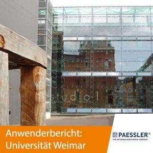 Paessler Anwenderbericht Universität Weimar