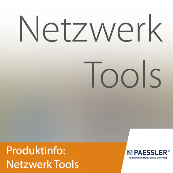 Paessler: Netzwerk Tools