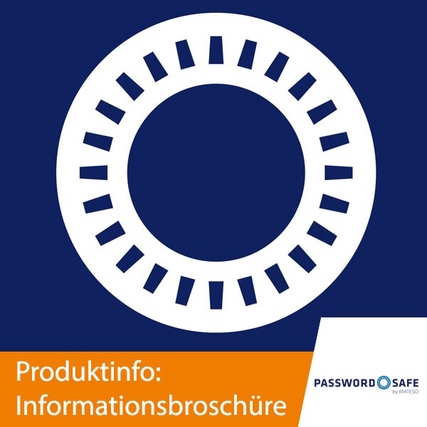 Password Safe Informationsbroschüre