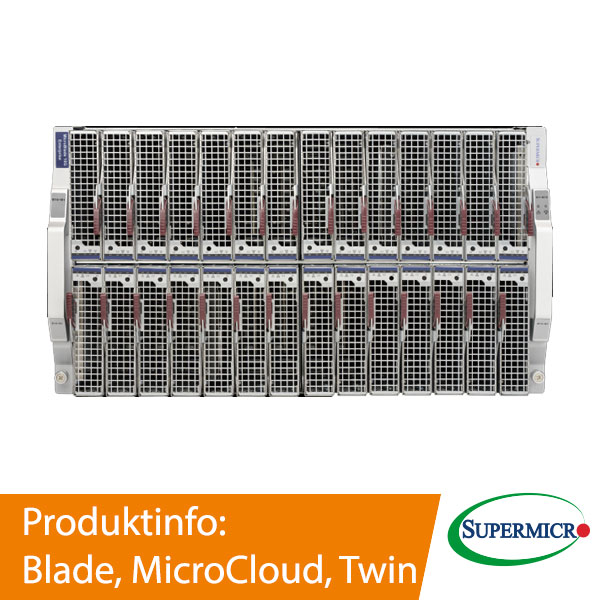 Supermicro Blade, MicroCloud, Twin