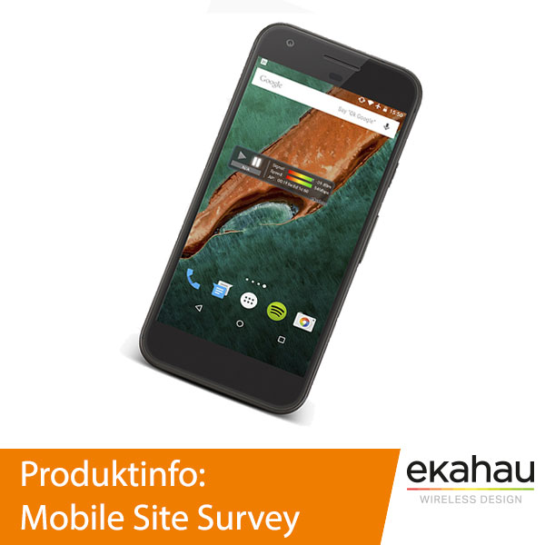 Ekahau Mobile Site Survey