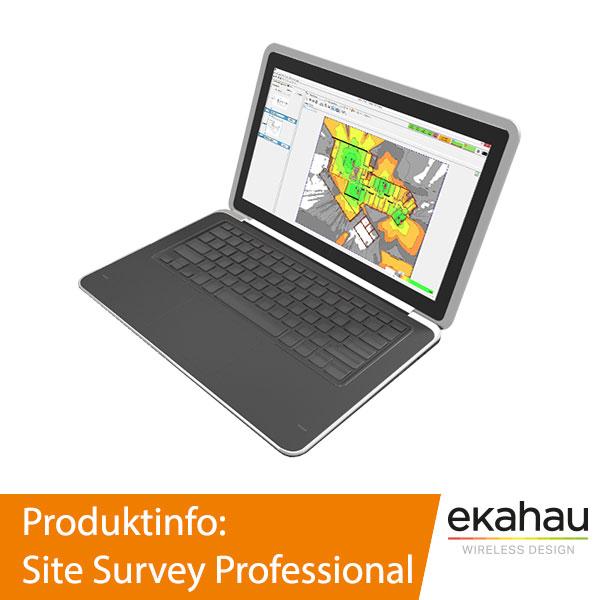 Ekahau Site Survey Professional