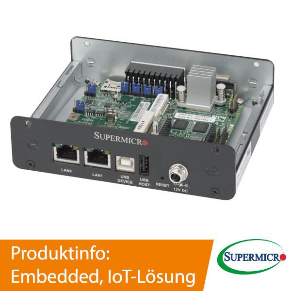 Supermicro Embedded, IoT Lösungen