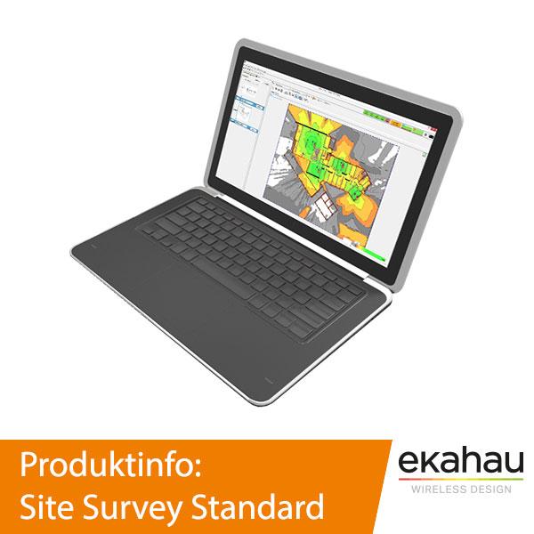 Ekahau Site Survey Standard