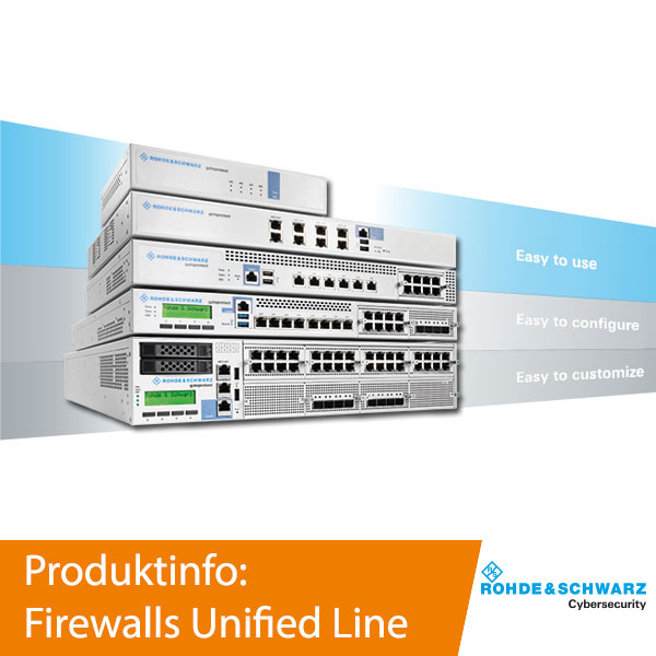 Rohde & Schwarz Cybersecurity - Unified Line