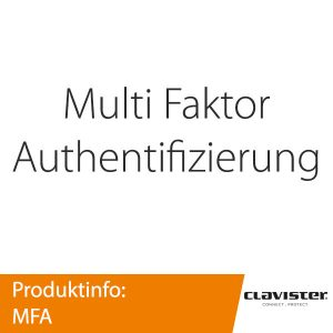 Clavister Multi Faktor Authentifizierung