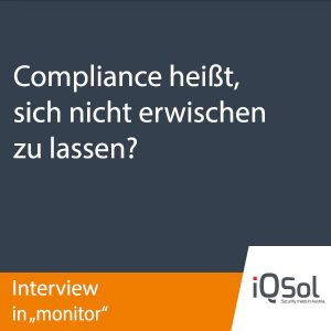 iQSol Interview in monitor