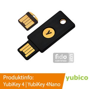 YubiKey 4 | YubiKey 4Nano