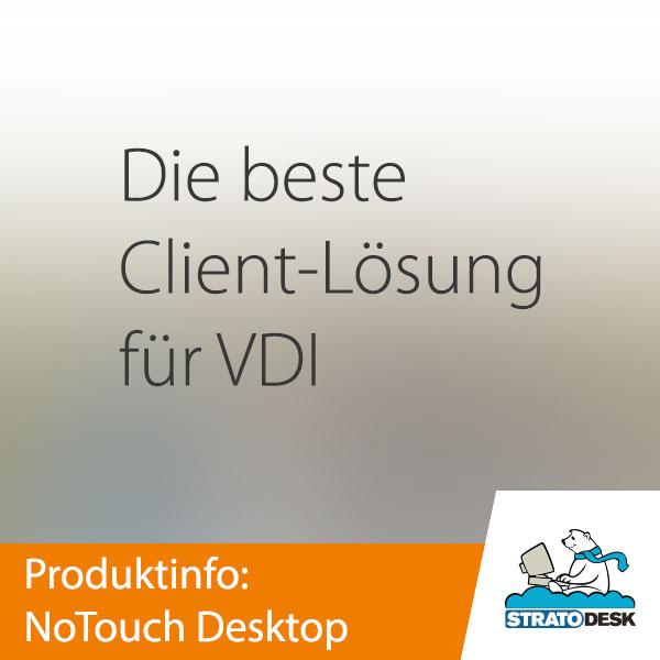 Stratodesk NoTouch Desktop