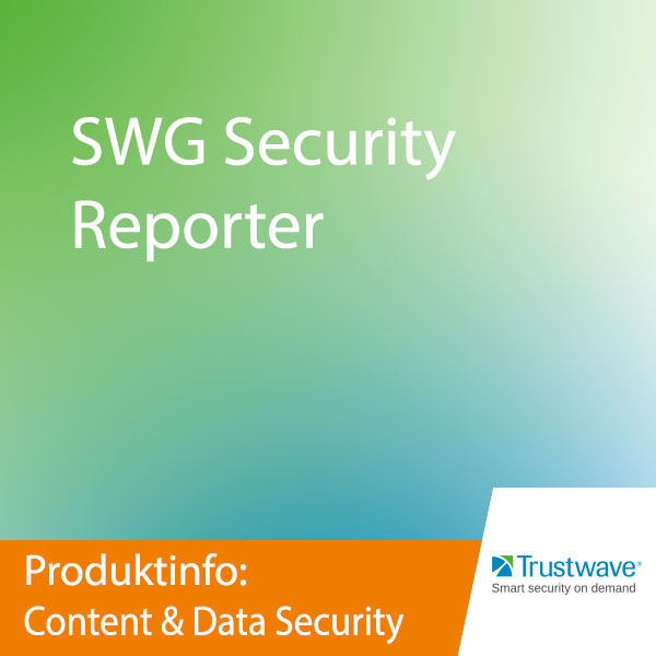 Trustwave SWG Security Reporter