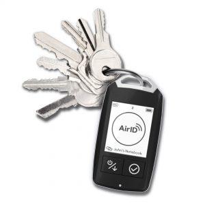 Certgate AirID am Schlüsselbund