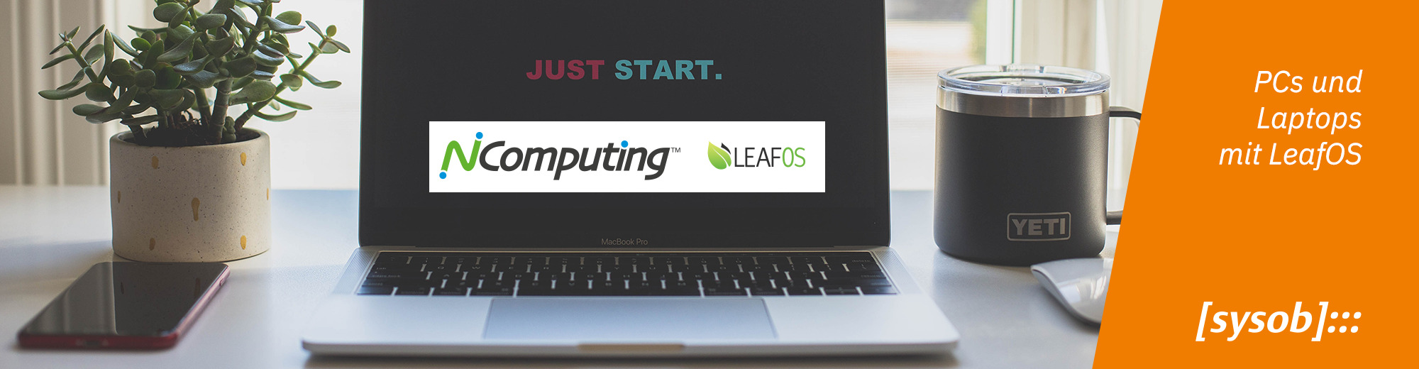 NComputing und LeafOS für hohe Performance