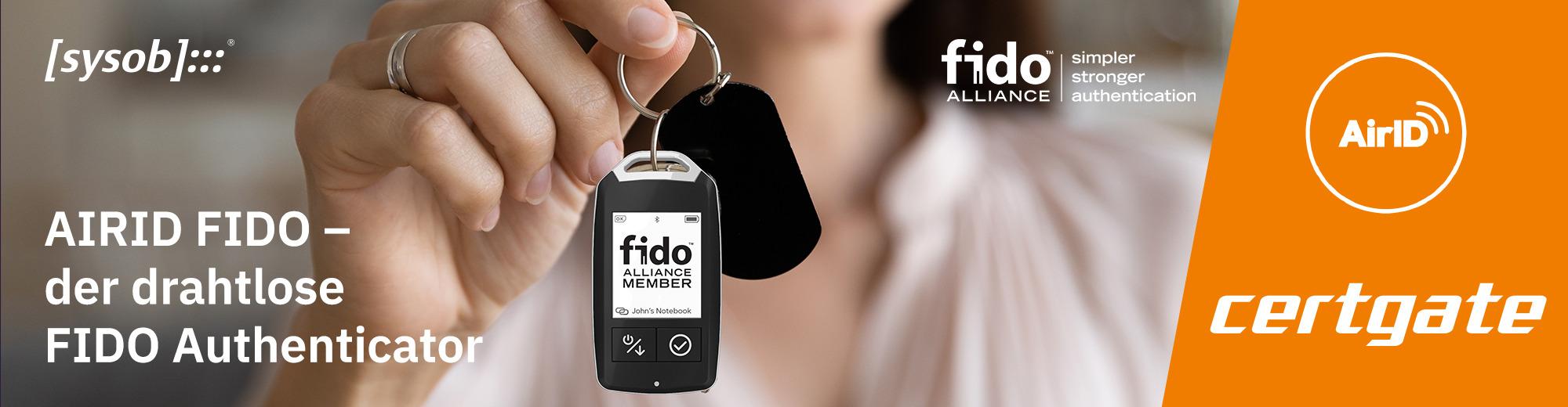 certgate AirID FIDO