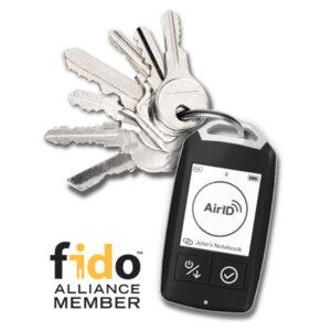 certgate A2FM Schlüsselbund FIDO Alliance Member